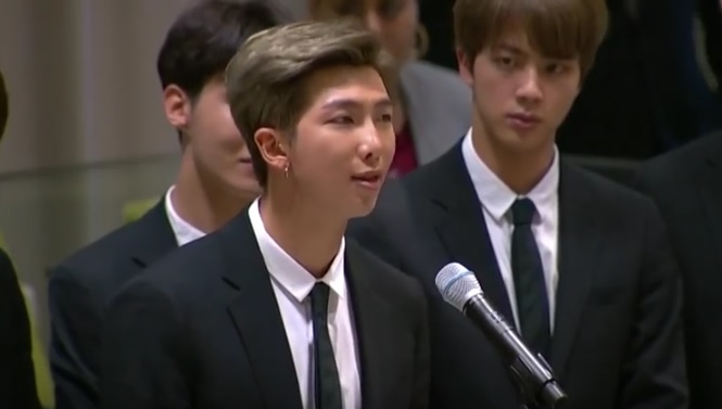 RM of BTS at UN