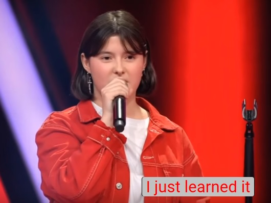 Watch: 14-Year Old Girl Nails BTS' The Truth Untold on The Voice Kids Germany  (video)